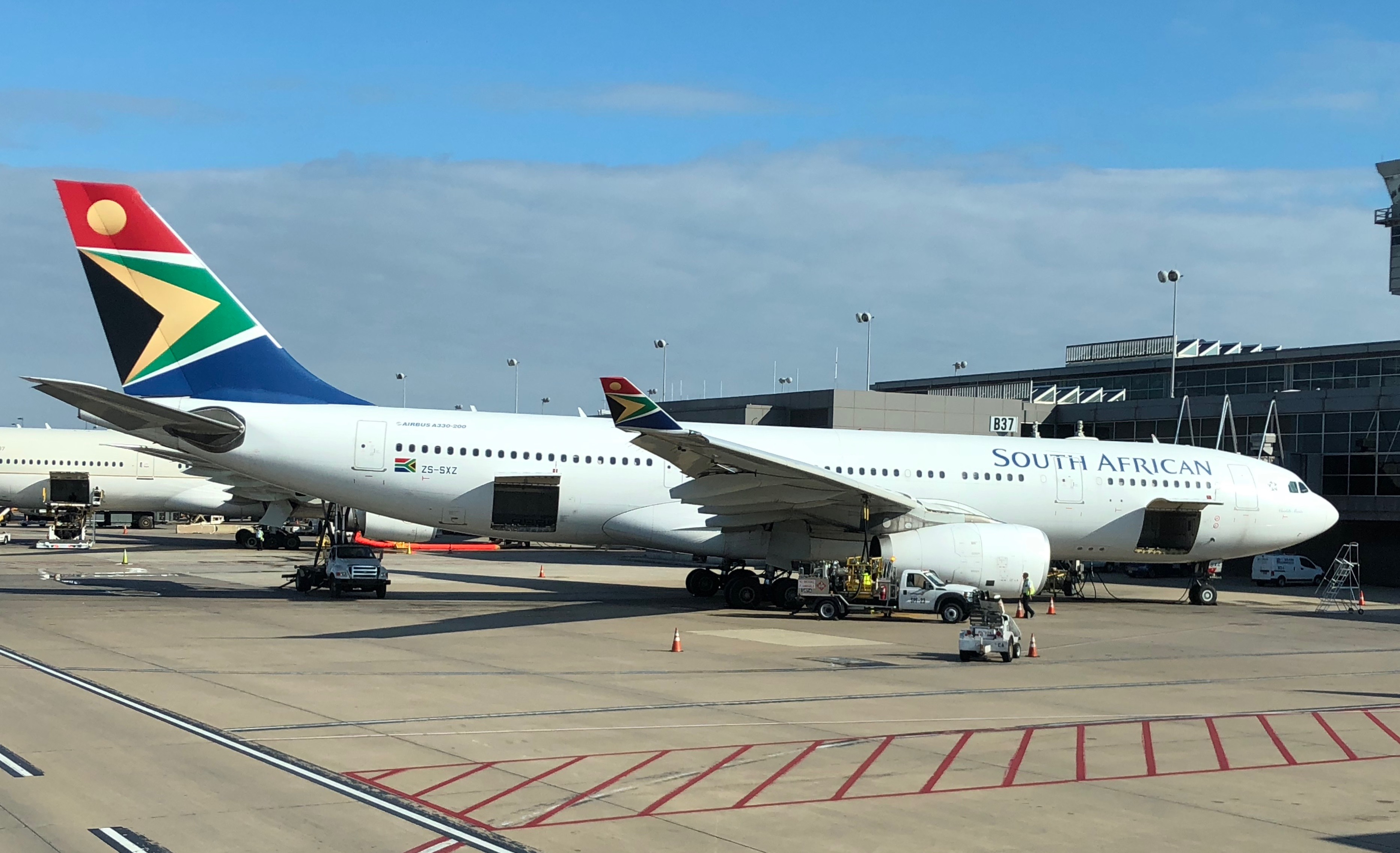A South African Airways Airbus A330-200